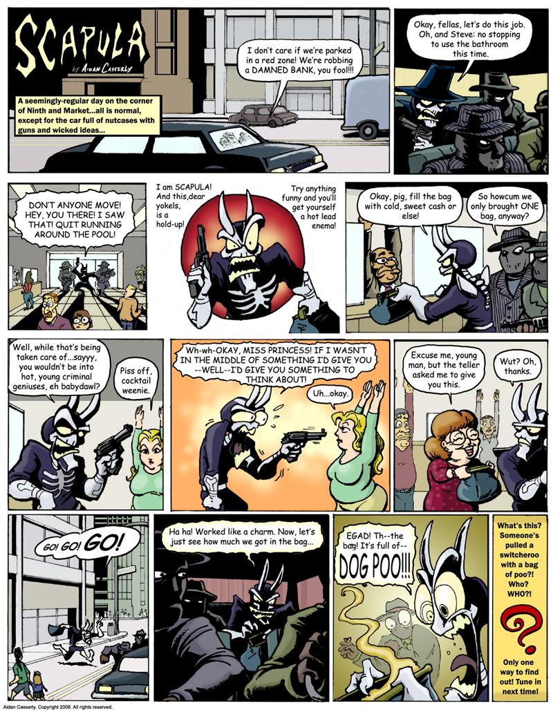 A CRAPPY CRIME CAPER pt.1
