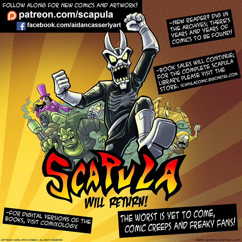 SCAPULA WILL RETURN!