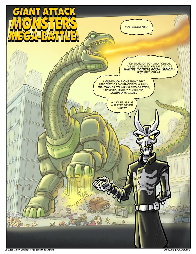 Giant Attack Monsters Mega-Battle! pg1