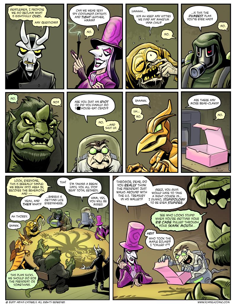 Giant Attack Monsters Mega-Battle! pg3