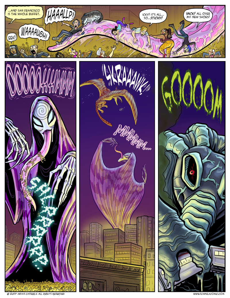 Giant Attack Monsters Mega-Battle! pg19