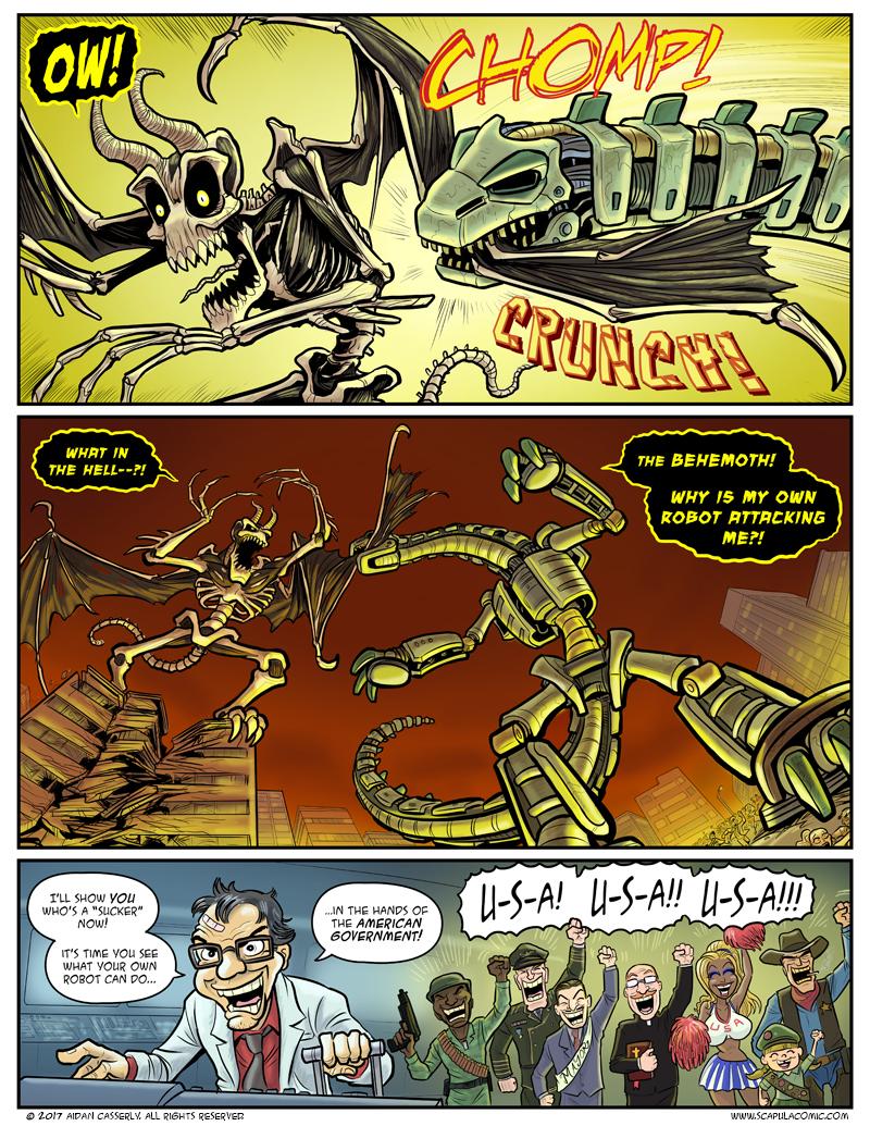Giant Attack Monsters Mega-Battle! pg27