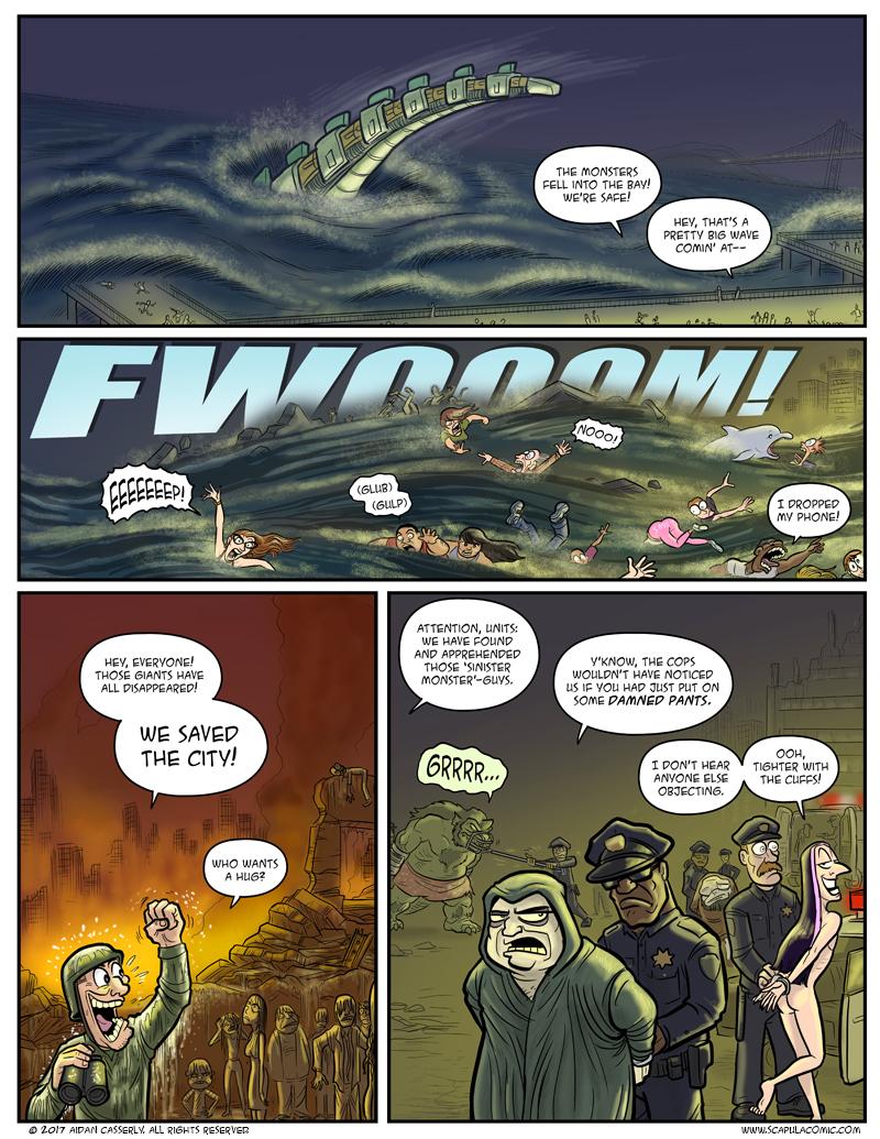 GIANT ATTACK MONSTERS MEGA-BATTLE! pg29
