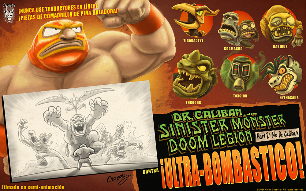 Dr. Caliban and the Sinister Monster Doom Legion, Part 2: No Dr. Caliban