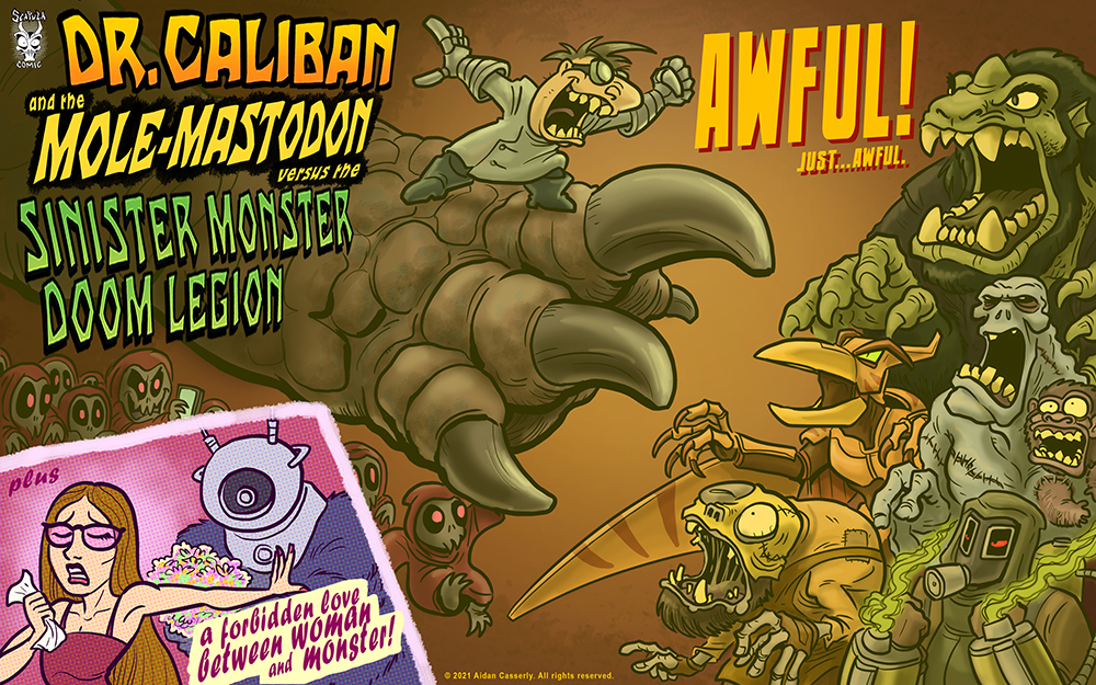 Dr. Caliban and the Mole-Mastodon versus the Sinister Monster Doom Legion